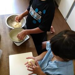 カフェ風 昨日、息子の朝食作りからの流れで、子供達…(2枚目)
