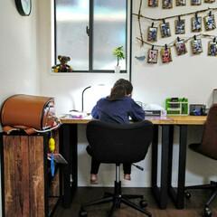 机/ダイニング/部屋全体/子供部屋/キッチン/DIY 以前、投稿したキッチン学習について。 キ…(10枚目)