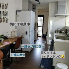 机/ダイニング/部屋全体/子供部屋/キッチン/DIY 以前、投稿したキッチン学習について。 キ…(3枚目)