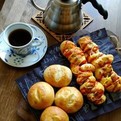 カフェ風 昨日、息子の朝食作りからの流れで、子供達…(1枚目)