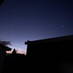 夜明け前/冬/風景 明るくなるのが早くなりましたねー