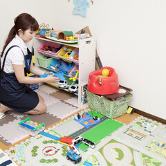 家事代行/収納/片付け/子供部屋 おもちゃで散らかった子供部屋も綺麗にお片…