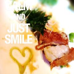 スタミナ盛り/夏に向けて/スタミナご飯/チキン/ピリ辛/ハート型/... 夏バテ防止のスタミナメニュー🍴  食べ進…