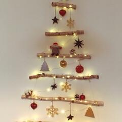 クリスマス/クリスマスツリー/フライングタイガー クリスマスが大好き。  今年は「こんなツ…