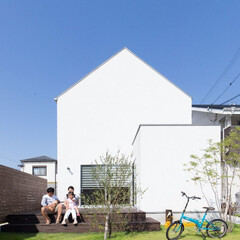 ds/D´S STYLE/自然素材/無垢/白い家/外観/... 家をおしゃれに住みこなそう。 そう、着こ…