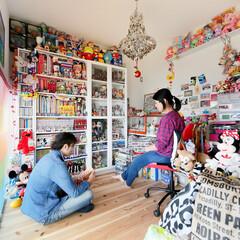 趣味/雑貨/コレクション/ぬいぐるみ/フィギュア/マンガ/... . ~ご夫婦の趣味の雑貨に囲まれた  お…