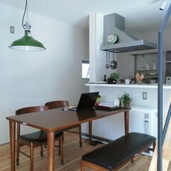 自然素材/無垢材/無垢杉の床/漆喰の壁/白い壁/対面キッチン/... . ~シンプルプランのD'S STYLE…
