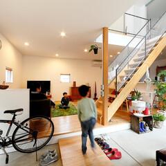 ds/D´S STYLE/自然素材/無垢/土間のある暮らし/四角の家/... 家をおしゃれに住みこなそう。 そう、着こ…