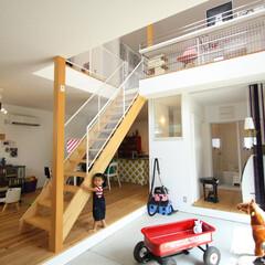 D'S STYLE/デザイナーズ住宅/四角の家/ハコの家/HOUSE/home/... . ~土間だけじゃない!  家全体がワク…
