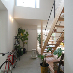 ds/D´S STYLE/土間のある暮らし/かっこいい/おしゃれ/四角の家/... 家をおしゃれに住みこなそう。 そう、着こ…
