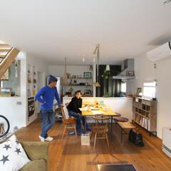 自然素材/無垢材/無垢杉の床/D'S STYLE/デザイナーズ住宅/土間/... . ~好みの家具や雑貨に囲まれて  自分…