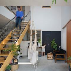 ds/D´S STYLE/土間のある暮らし/グリーン/植物/階段/... 家をおしゃれに住みこなそう。 そう、着こ…