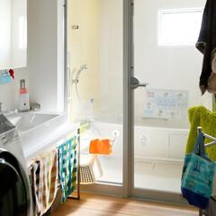 ds/D´S STYLE/洗面脱衣所/自然素材/無垢/インテリア/... 家をおしゃれに住みこなそう。 そう、着こ…