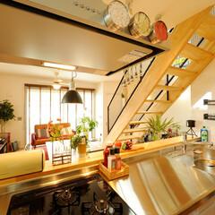 ds/D´S STYLE/ダイニングキッチン/リビング/吹き抜け/自然素材/... 家をおしゃれに住みこなそう。 そう、着こ…