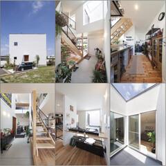 自然素材/無垢材/無垢杉の床/漆喰の壁/白い壁/W断熱の家/... . ~男前スタイルを体感できる  MOD…