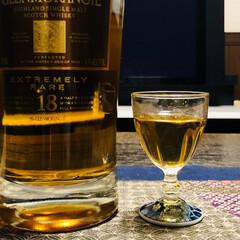 ショットグラス/ウヰスキー/今宵の一杯 久しぶりのストレート 親父の形見のグラス…