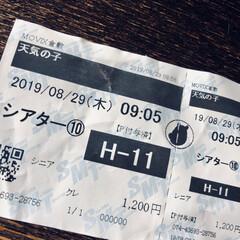 新海誠/アニメ/映画鑑賞 久しぶりに映画🎬を観てきました。 アニメ…