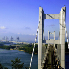 風景 瀬戸大橋をパ写リ