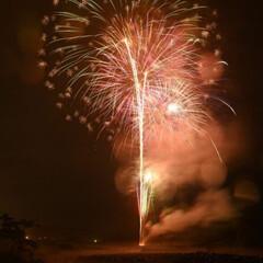 花火 全国一斉 🎆花火 職場の直ぐ傍で上がって…