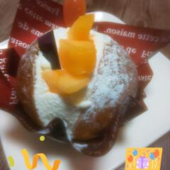 美味しい時間/北海道物産展/誕生日ケーキ/20歳/誕生日 今日は次男の 20歳 🎈HAPPYBIR…(1枚目)