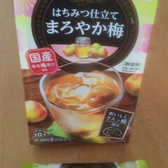 梅ジュース 昨日スーパーで見つけた日東紅茶の はちみ…