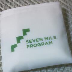 セブンイレブン/エコバッグ  セブンの買い物袋そっくりな エコバッグ…(1枚目)