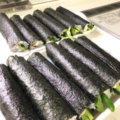恵方巻き/巻き寿司/節分 今日は  節分   👹      お昼に…