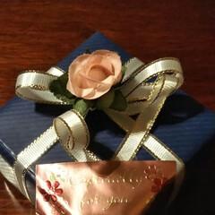 プレゼント/結婚記念日 今日は29回目の結婚記念日💕 主人からプ…