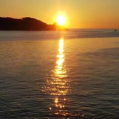 早起き/海のある暮らし/日の出 おはようございます。 今日の日の出🌅 ま…