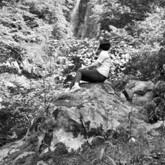 癒し/気分転換/田舎/滝 宮崎は県北、五ヶ瀬町の白滝 けっこう山の…