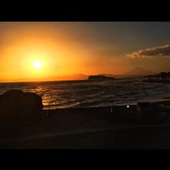 夕焼け/富士山/夕日が綺麗/フォロー大歓迎/風景/旅行/... これは確か鎌倉方面にお出かけしたとき 奥…