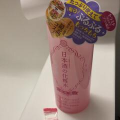 菊正宗 スキンケアローション ハイモイスト500ml×2本セット日本酒の化粧水   コストコ(拭き取り化粧水)を使ったクチコミ「私のお気に入り☺️ 何本目だろう 化粧水…」
