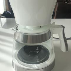 デロンギ アクティブドリップコーヒーメーカーICM12011J用ガラスジャグ | デロンギ(コーヒーメーカー部品、アクセサリー)を使ったクチコミ「私のお気に入り☺️ 最新✨デロンギ  ア…」(1枚目)