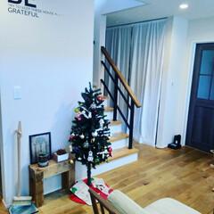 ほうきとちりとり/DIY/ポスター/無垢の床/LIXILファミリーラインパレット/momonatural/... クリスマスツリーだしました。 小学生よ、…
