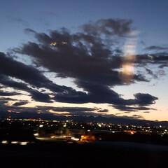 夕焼け雲/夕焼け/風景 今日は、寒かった〰️😖 でも、夕焼け🌇は…