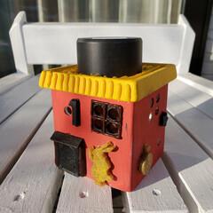 100均/100均DIY/100均リメイク/ガーデニング/ソーラーライト/DIY/... ダイソーの植木鉢とソーラーライト💡で作っ…(3枚目)