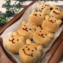 こんがりグルメ/ちぎりパン/手作り/ホームメイド/手作りパン/パン 毎日梅雨空でなかなか外に出られないもどか…