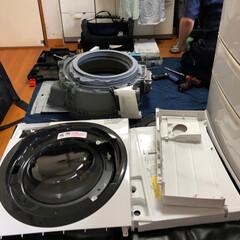 暮らし/掃除 いつもの様に、我が家の斜めドラム洗濯乾燥…