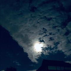月/夜空/風景 秋の空、第2弾(笑)  雨が降って澄んだ…(1枚目)