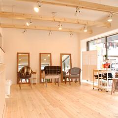 美容室cachecache/ハーフビルド工法/本厚木 解放感のあるスペースが広がります。施主様…