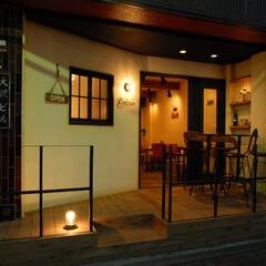 Godzown New Zeala.../ゴッズオウン/NZ/ニュージーランド料理/玉川学園前/マリンライト/... 夜は温かな雰囲気が生まれます。「アメリカ…