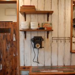 Godzown New Zeala.../ゴッズオウン/NZ/ニュージーランド料理/玉川学園前/マリンライトエイジング/... 全部新品の木材をエイジングし、経年による…