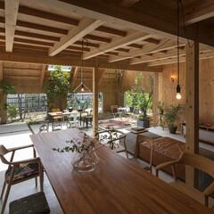 SUPPOSE DESIGN OF.../庭/ガーデン/庭師/不動産・住宅/部屋/... 庭部屋があれば、天気やお隣さんを気にせず…