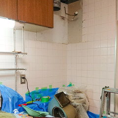 100均フィルターつけてみた/賃貸物件の特権/換気扇交換 キッチンの換気扇交換してもらいました😊 …(2枚目)
