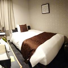 明日は京都だ/お疲れなのでもう寝よう 大阪の夜、一人でラーメン🍜とTKG食べて…(4枚目)