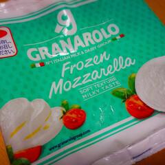 家庭菜園/バルコニー/トマトケチャップ/バジル/カルディ/モッツァレラチーズ/... 適当に作った今日のランチ。 炒めた具に、…(3枚目)