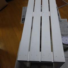 2×4/1×4/ベンチ/DIY/家具/住まい 今日は木曜日なので木材カットが無料  と…