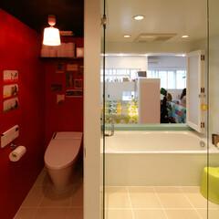 採光/風通し バスルームにもバルコニーからの光が届き、…