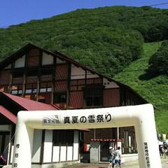 夏の一番の思い出/ヒグマでる地域です(゜ロ゜;ノ)ノ 会津田島に行き 自然な 初めての精米に雪…
