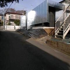 建築/建築家/住宅/外観/外壁/金属/... 南西側からの遠景